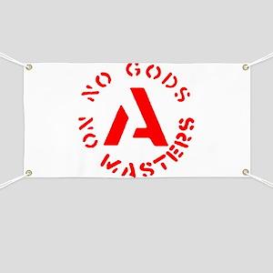 No Gods No Masters Banner