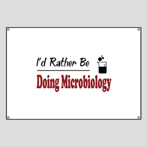 Rather Be Doing Microbiology Banner