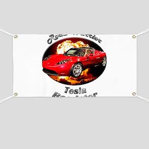Tesla Roadster Banner