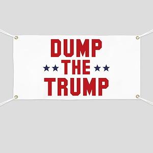 Dump The Trump Banner