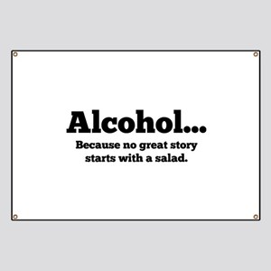 Alcohol Banner