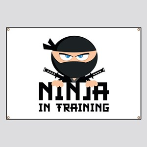 Ninja In Training Banner