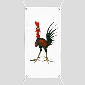 Crazy Rooster Banner