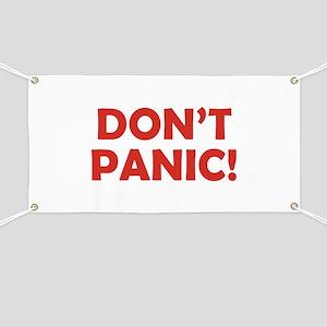 Don't Panic! Banner