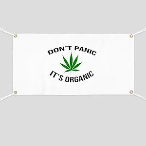 Don't Panic It's Organic Banner