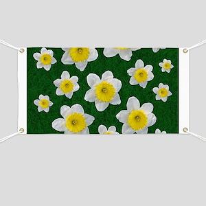 Spring Daffodils Banner