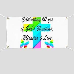 60 YR OLD PRAYER Banner