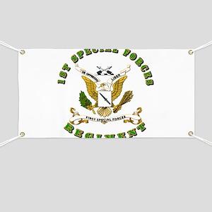SOF - 1st SF Regiment Banner