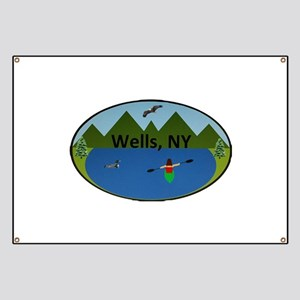 Wells, NY Banner