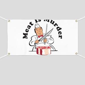 Meat Is Murder Banner