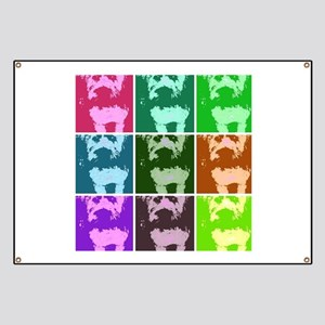 Wheaton Terrier Pop Art Banner