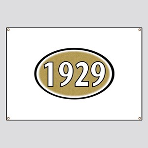 1929 Oval Banner