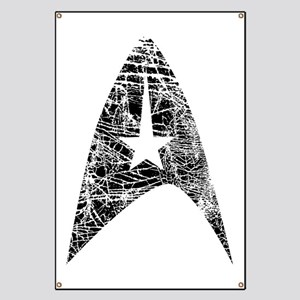 Vintage Star Trek Insignia Banner