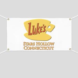 Luke's Diner Stars Hollow Gilmore Girls Banner