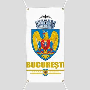 Bucharest COA (Flag 10) Banner