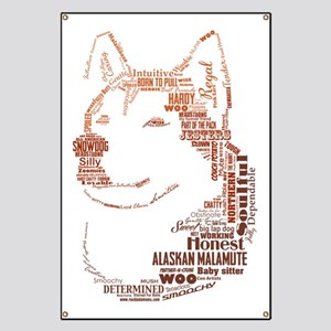 Malamute Words Banner