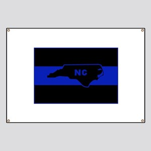 Thin Blue Line - North Carolina Banner