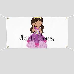 Autistic Princess Ethnic Banner