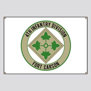 4th Infantry post Banner