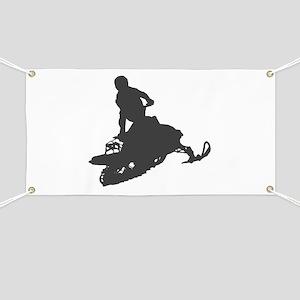 Snowmobile - Snowmobiling Banner