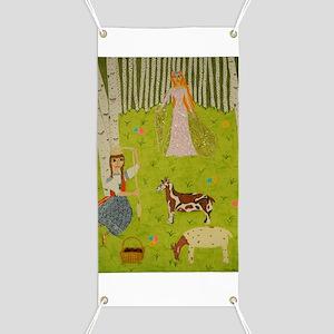 Wood Maiden Banner
