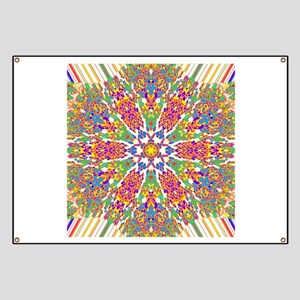 Abstract Psychedelic Kaleidoscope (79) Banner