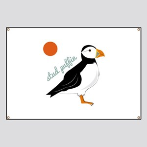Stud Puffin Banner
