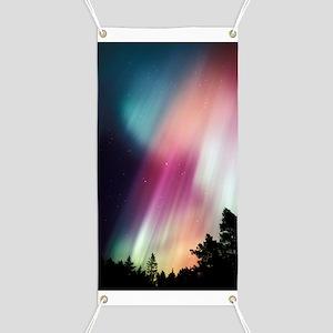 Aurora borealis Banner