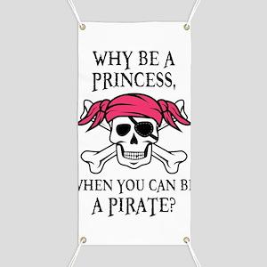 Pink Pirate Banner