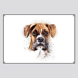 Boxer Painting Banner