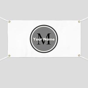Custom Initial And Name Banner