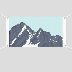 Mountain Peak Banner