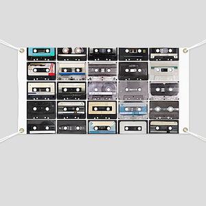 Cassette Tapes Banner