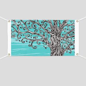 Decorative Tree Banner