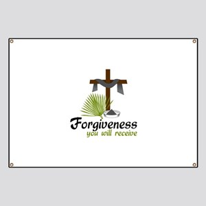 Forgiveness You Will Receive Banner