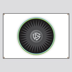 45 RPM Record Banner