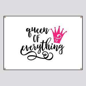 QUEEN of everything Banner