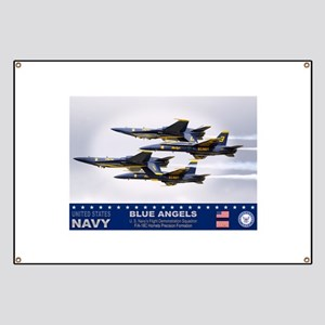 Blue Angels F-18 Hornet Banner