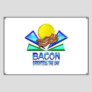Bacon Brightens the Day Banner