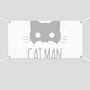 Cat Man Banner
