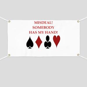 card player Banner