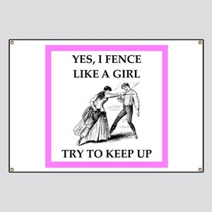 play ike a girl Banner
