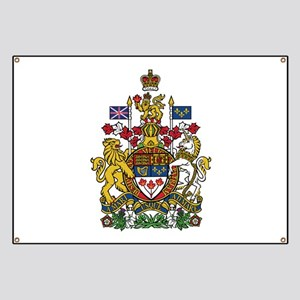 Canada Coat Of Arms Banner