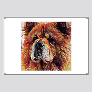 Chow Chow: A Portrait in Oil Banner