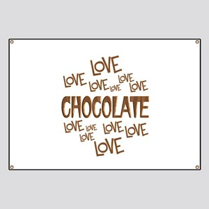Love Love Chocolate Banner