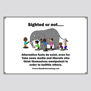 Alternative Facts do exist Banner