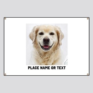 Dog Photo Customized Banner