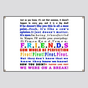 Friends Quotations Banner
