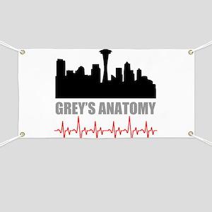 Grey's Anatomy Seatle Banner