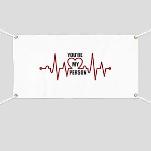 Grey's Anatomy My Person Banner